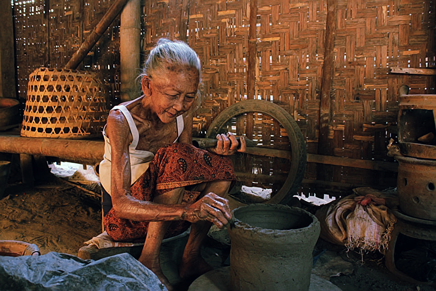 Photograph Old Worker by 3 Joko on 500px