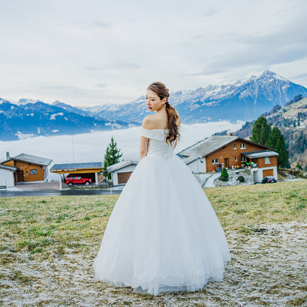 Wedding in winter mountains, Pentax 645D, smc PENTAX-FA 645 35mm F3.5 AL [IF]