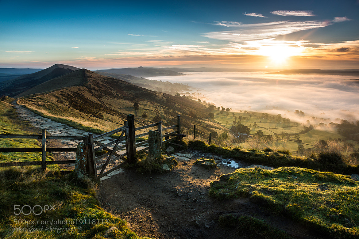 Photograph Mam Tor Mist by James Grant on 500px