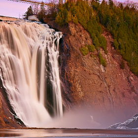 Montmorency Falls #2  by Magnus Larsson (MagnusL3D)) on 500px.com