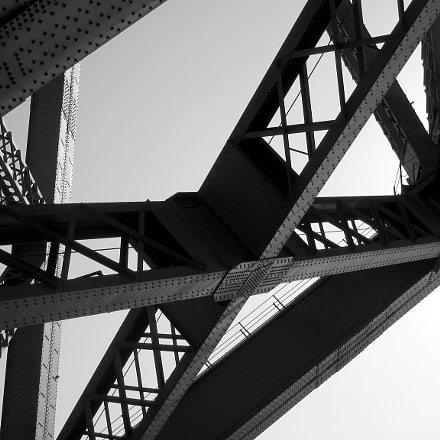 Sydney Harbour Bridge structure, Canon POWERSHOT S70