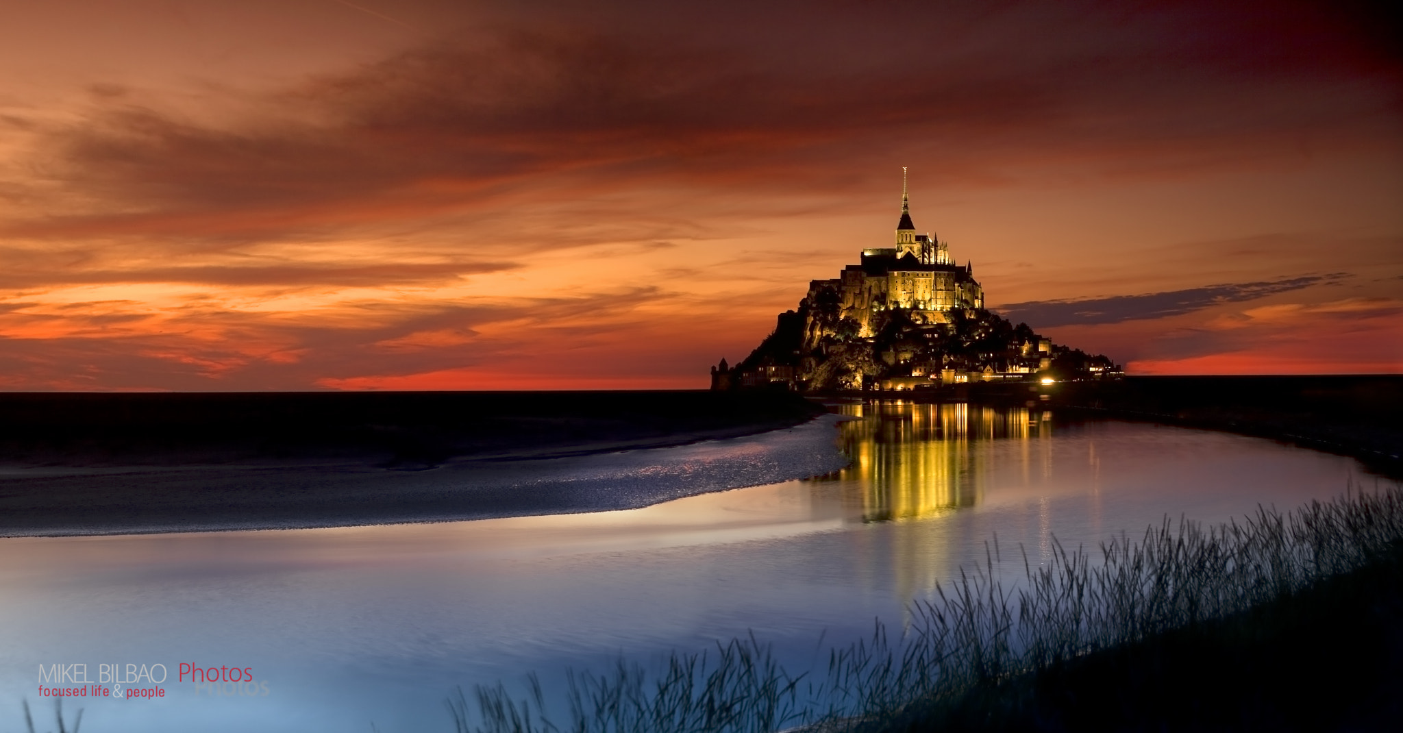 Photograph Mont St.Michael by Mikel Bilbao Gorostiaga on 500px