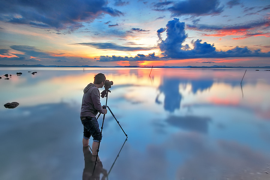 Photograph Sunrise Hunter by Uda Dennie on 500px
