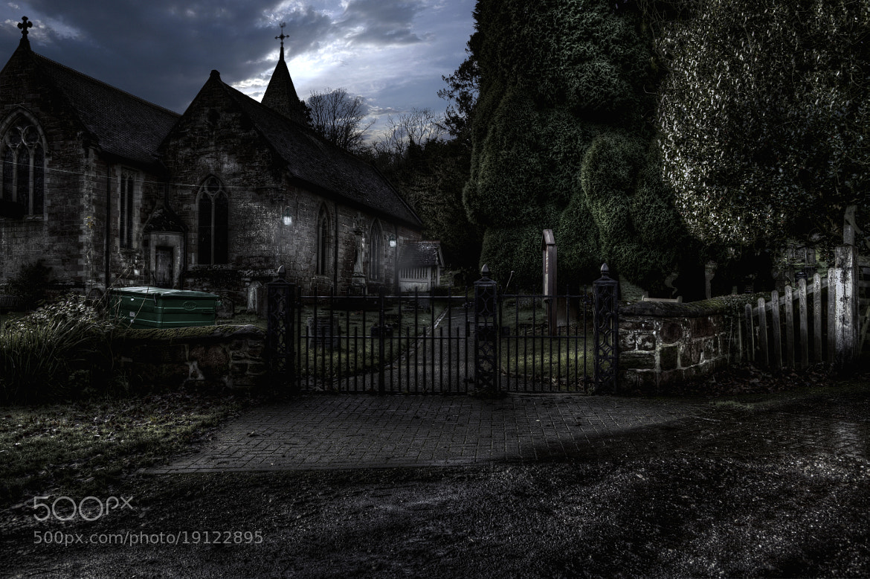 Photograph church at night by antony lampitt on 500px