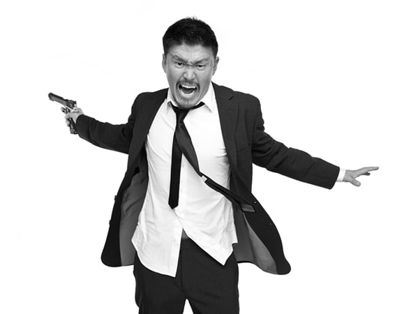 Photograph asian gangster rushing with gun by Eugene Choi on 500px