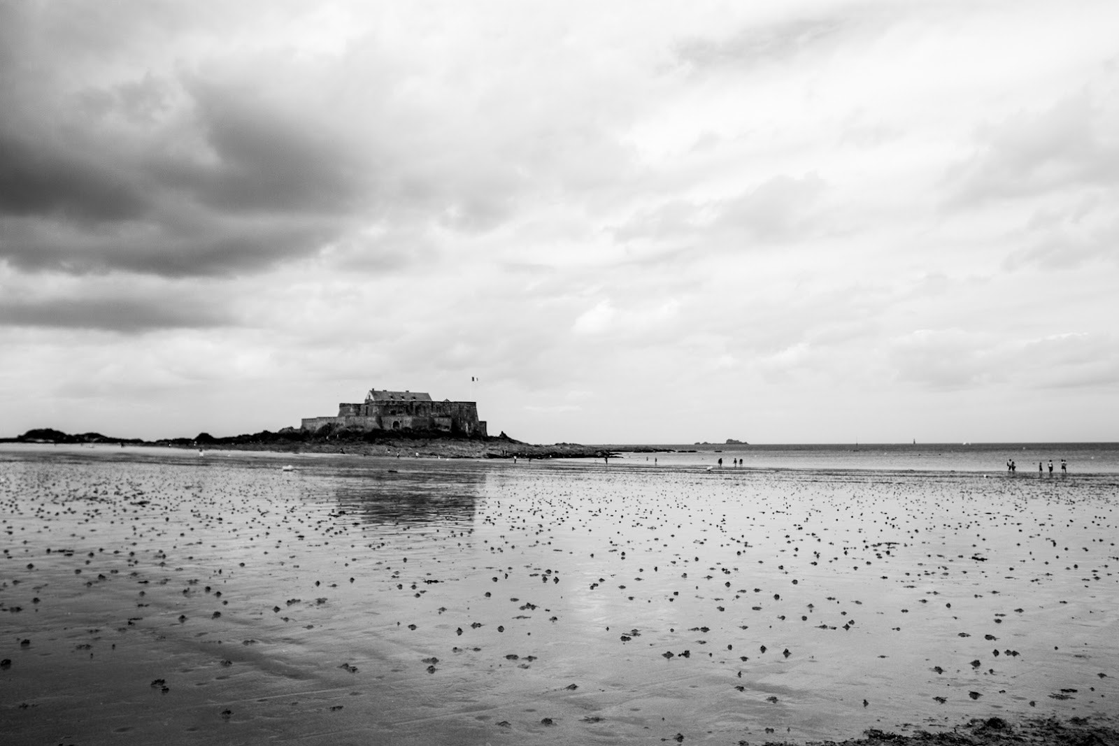 Photograph Paysages de Bretagne - Fort National, Saint-Malo, Bretagne, France by L. G. - luigig75 on 500px