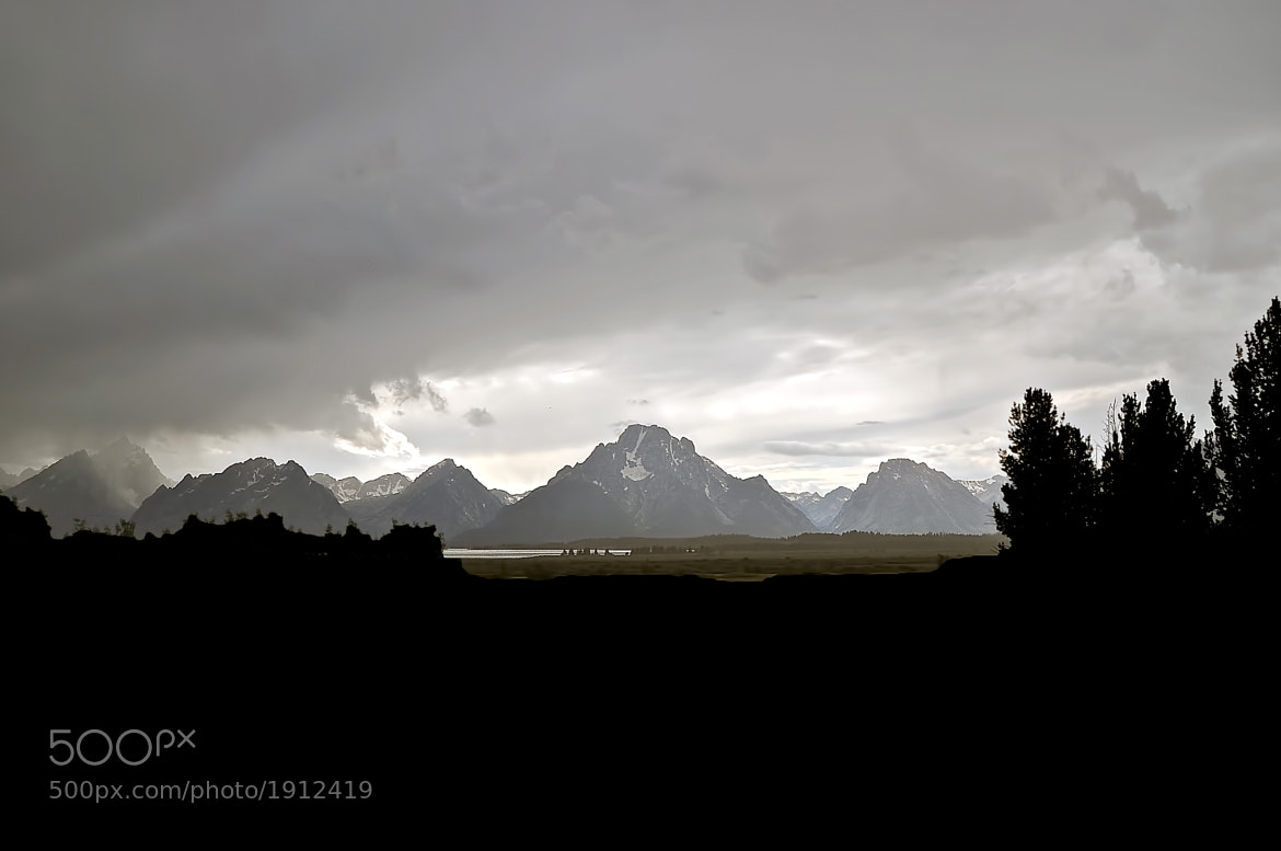 Photograph Last Light Over the Tetons by Scott Barlow on 500px