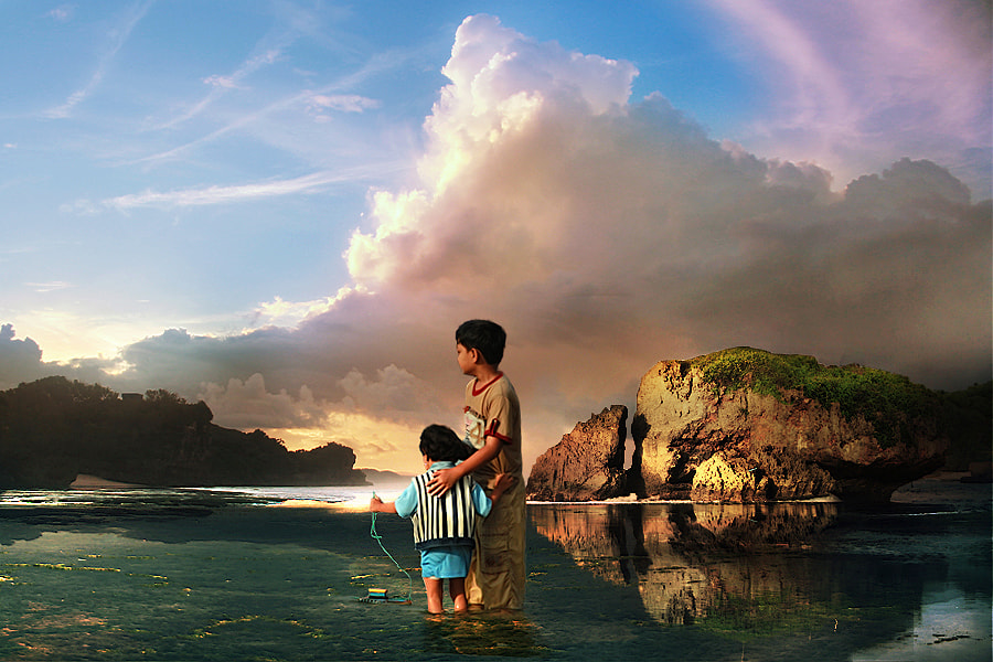 Photograph see the sunrise by 3 Joko on 500px