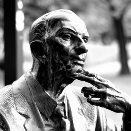 Jan Karski monument, Pentax K-50, smc PENTAX-F 50mm F1.7