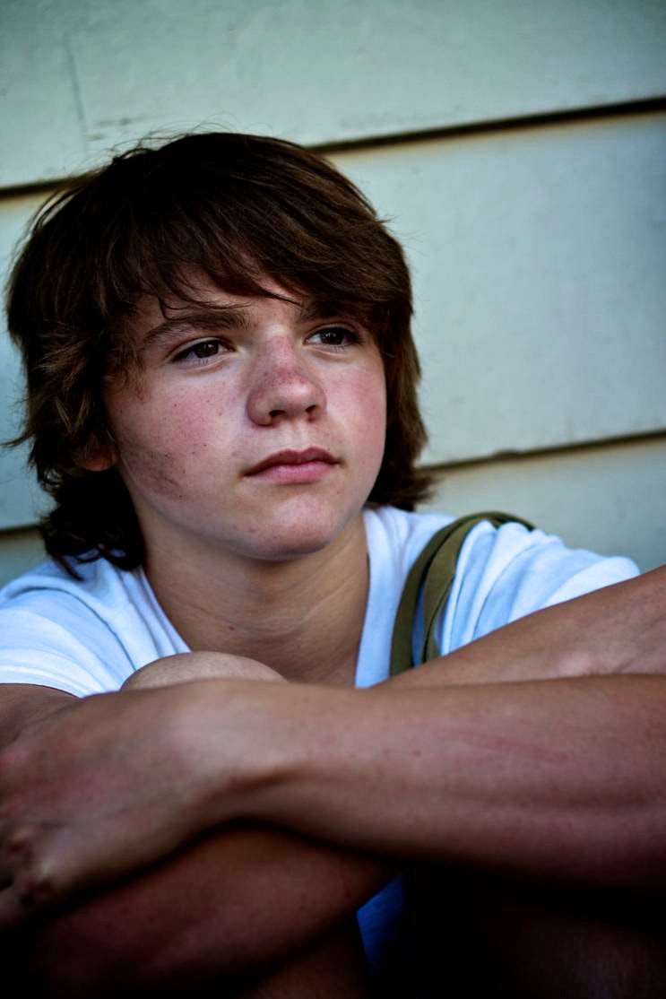 Photograph Joel Courtney as Cyrus for THE DRAGON'S TOOTH by Rob Sentz on 500px