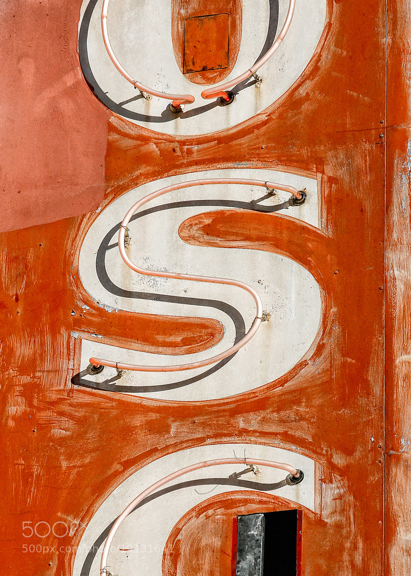 Photograph Neon Sign - Letter S by Miles Pro Photo on 500px