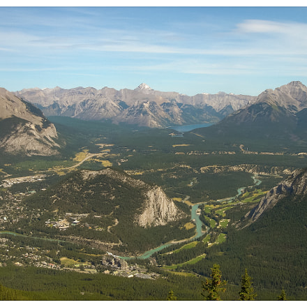 Canadian Rockies, Sony DSC-T1