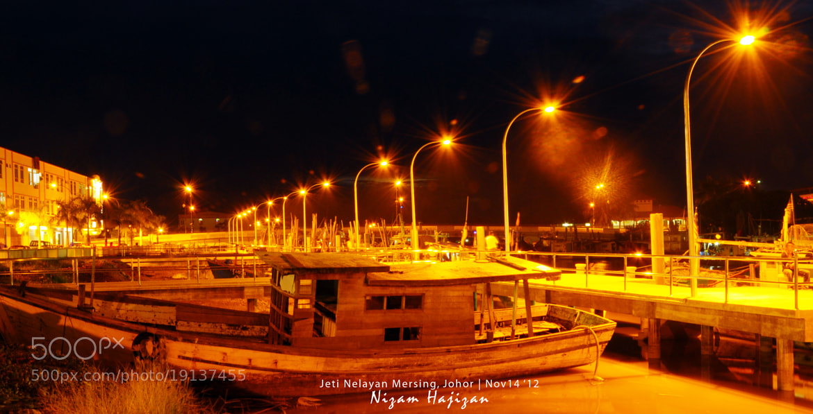 Photograph Night at Fisherman Jetty by Nizam Hajizan on 500px