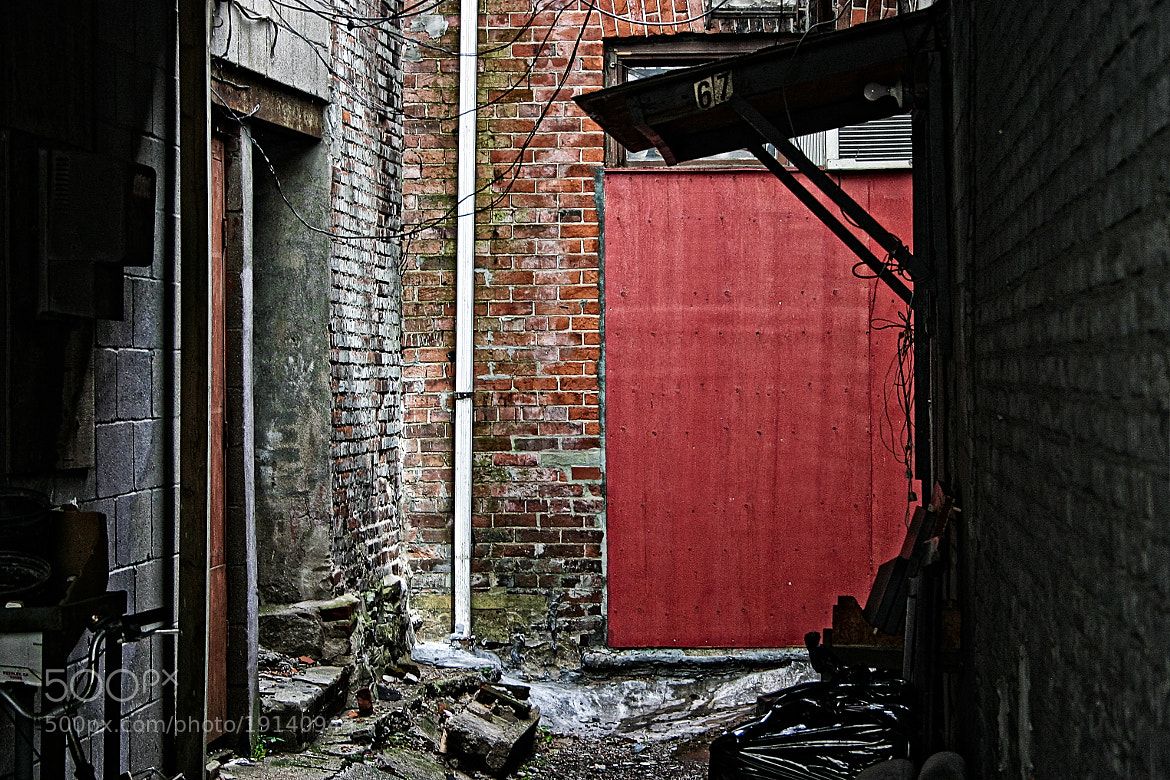 Photograph Back of the Alley by Chantal Brousseau on 500px