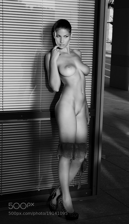 Photograph Ludmila in Tel Aviv B&W by Motti Shonak on 500px