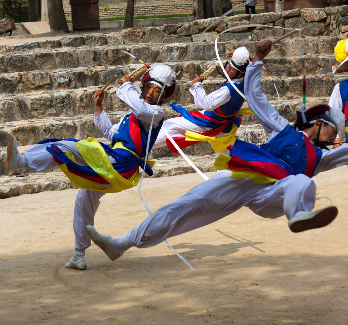 Photograph Korean folk dancers by Andres Guerrero on 500px