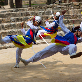 Korean folk dancers by Andres Guerrero (AGuerreroCollado)) on 500px.com