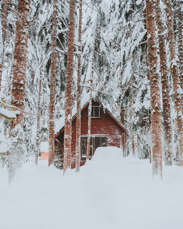 It has been a good and cold winter in the Northwest. by Berty Mandagie on 500px.com