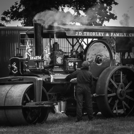 Steam traction engine, Fujifilm FinePix JX530