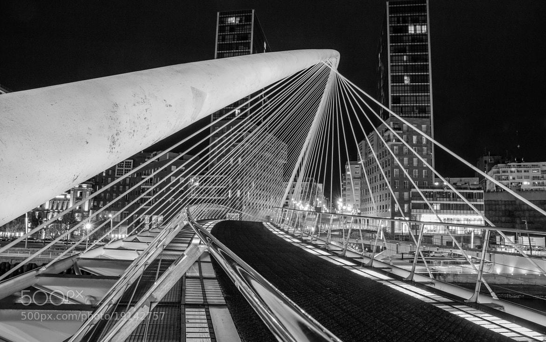 Photograph Bilbao de noche by Jose Antonio Lopez Bajo on 500px