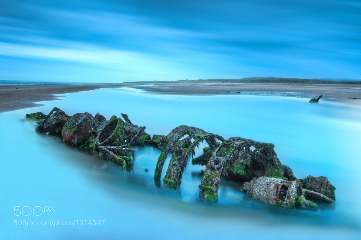 Photograph Aberlady Bay X-Craft Wreck by Sean Cooper on 500px