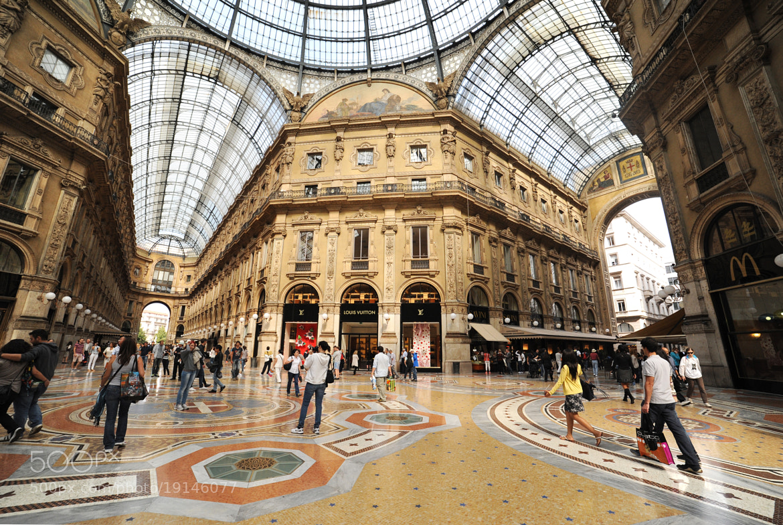 Photograph Galleria Vittorio Emanuele by Federica Provini Fotografie on 500px