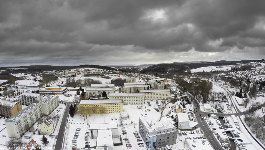 Ilmenau in snow by Chirag Saraswati on 500px.com