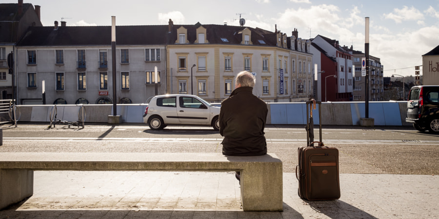 Patience is the key to travel! This man was patien ...