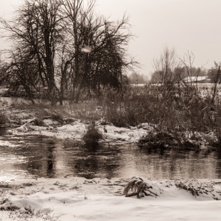 winter in the countryside, Sony NEX-VG20E, Sony E 18-200mm F3.5-6.3 OSS