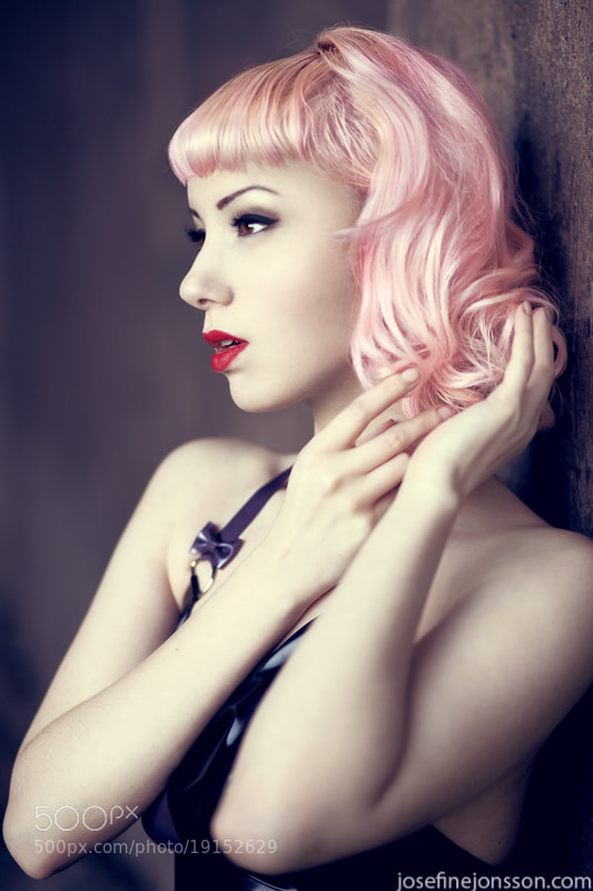 Photograph hot pink by Josefine Jönsson on 500px