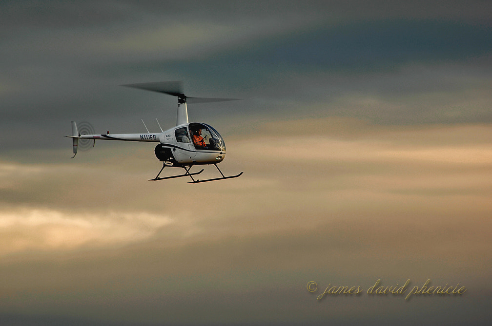 Photograph Aircraft Series:  R-22 by James David Phenicie on 500px