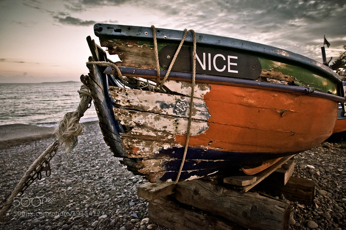 Photograph Nice boat by Eric Vermeil on 500px