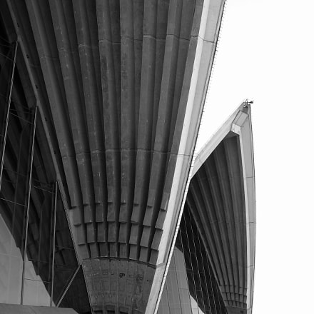 Opera house detail B, Canon POWERSHOT S70