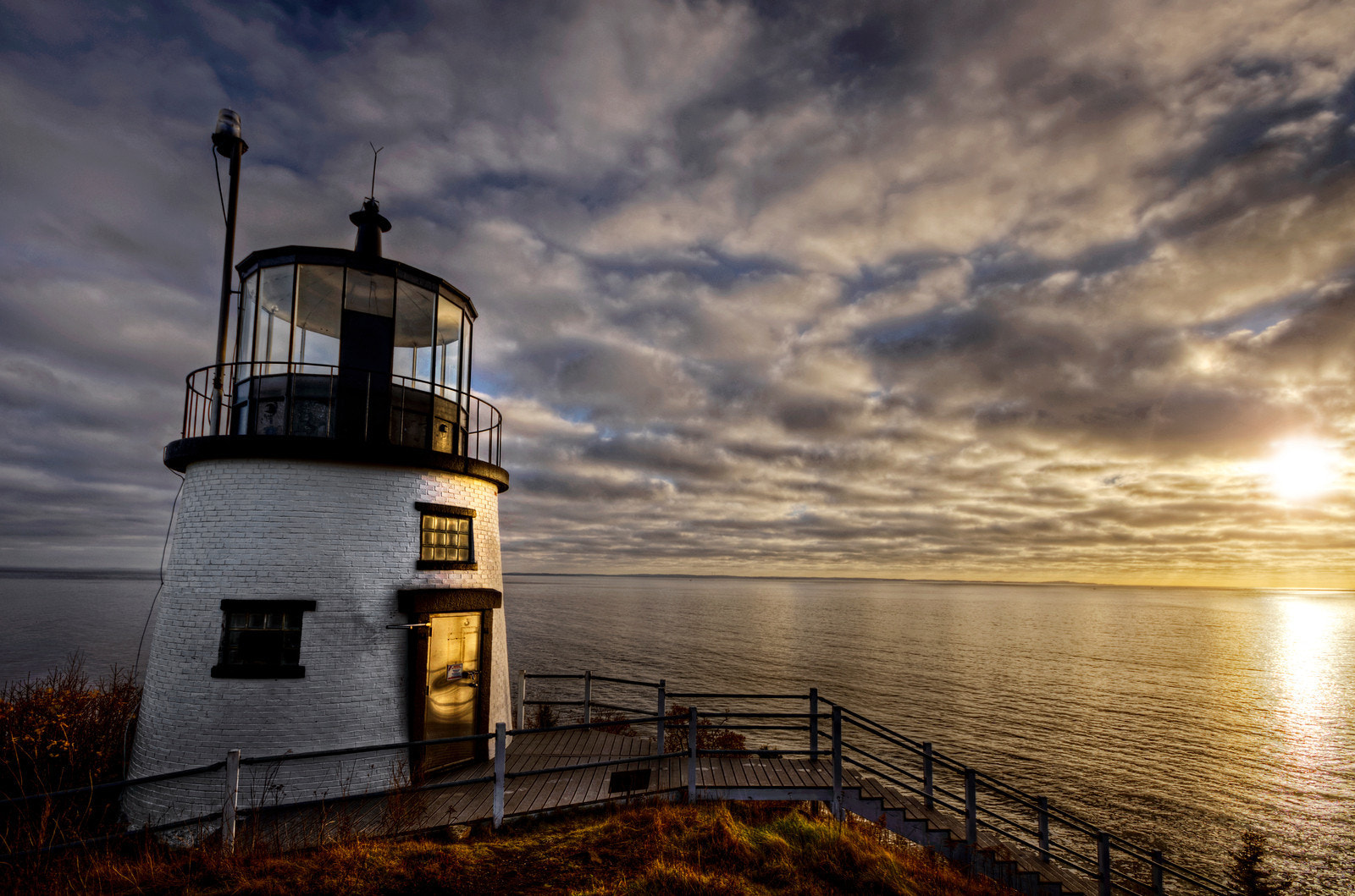 Photograph Sunrise at Owl's Head Light by Frank Grace on 500px