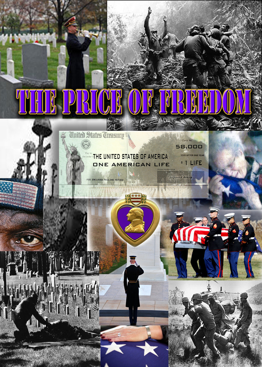 Photograph PRICE OF FREEDOM by Richard F Martinez on 500px