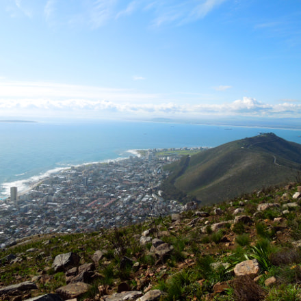 Cape Town from Lion's, Nikon COOLPIX S8200