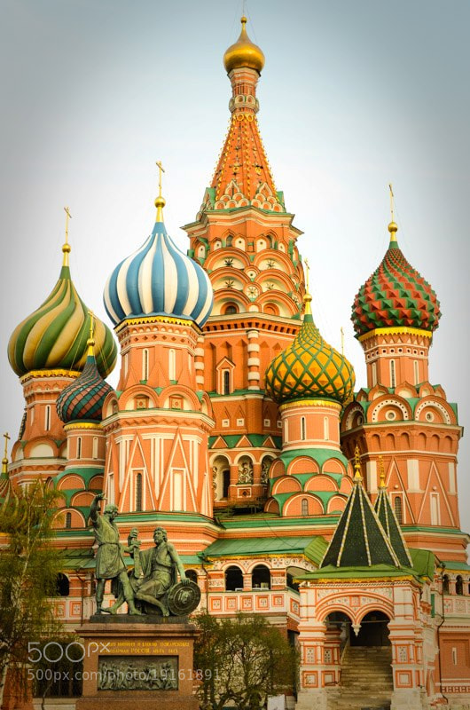 Photograph Saint Basil's cathedral by Norbert Weiss on 500px