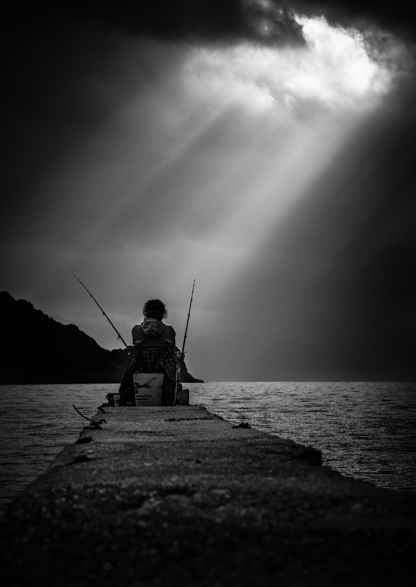 Photograph The Two Best Times To Fish Is When It's Raining And When It Ain't by Alessandro Baffa on 500px