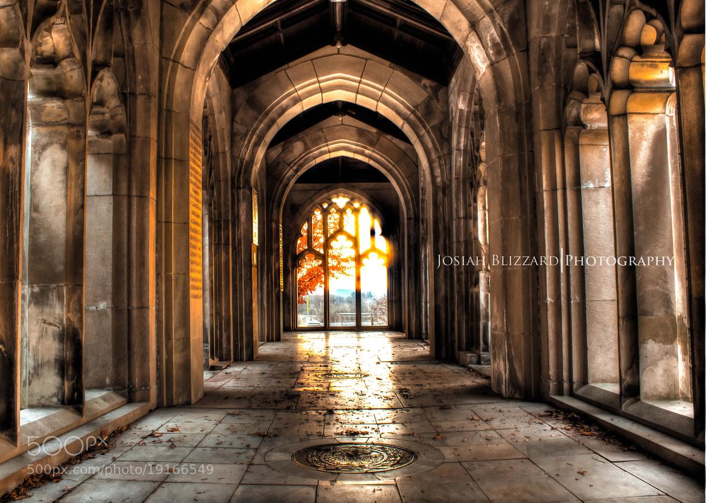 Photograph George Washington Chapel Corridor by Josiah Blizzard on 500px