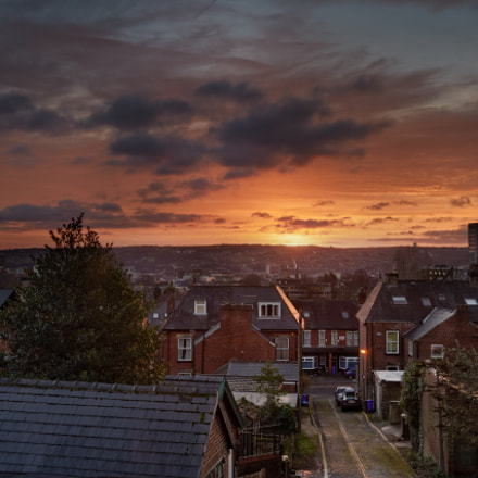 serotonin sunrise sheffield by, Canon EOS 5D MARK III, Canon EF 17-40mm f/4L USM