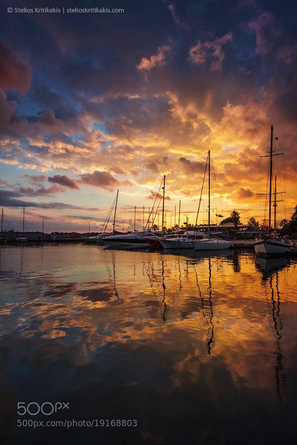 Photograph Marina Harbor II by Stelios  Kritikakis on 500px
