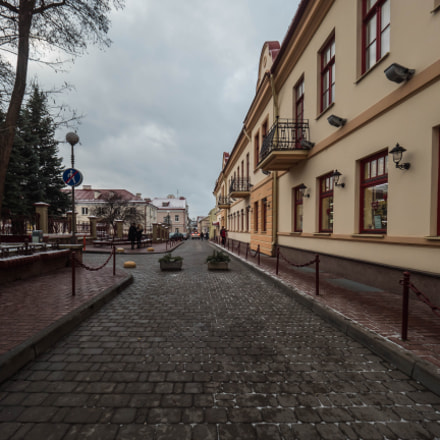 Small street in Grodno
