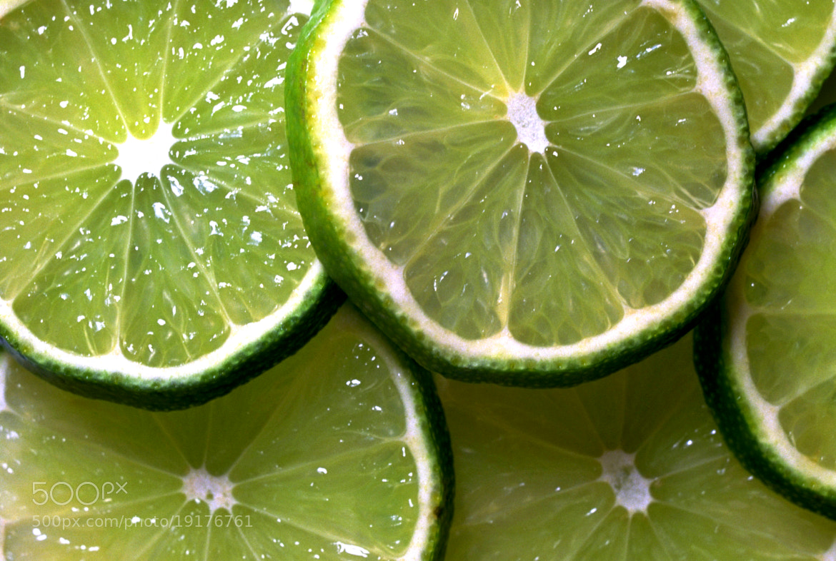 Photograph Sliced Limes by David Ryan on 500px