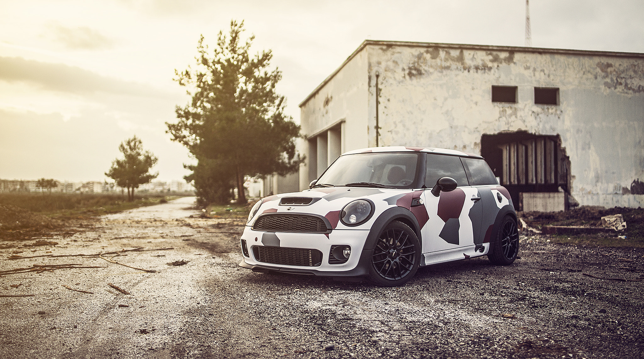 Photograph Mini Cooper S Works // Camouflage by Giannis Kokkas on 500px