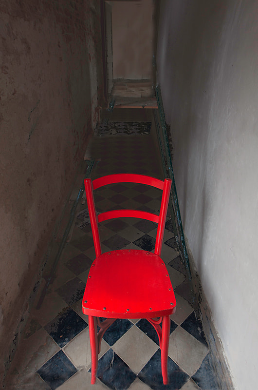 Photograph red chair by Gilbert Claes on 500px