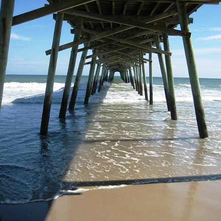 Bogue Inlet Pier on, Canon POWERSHOT SD1000