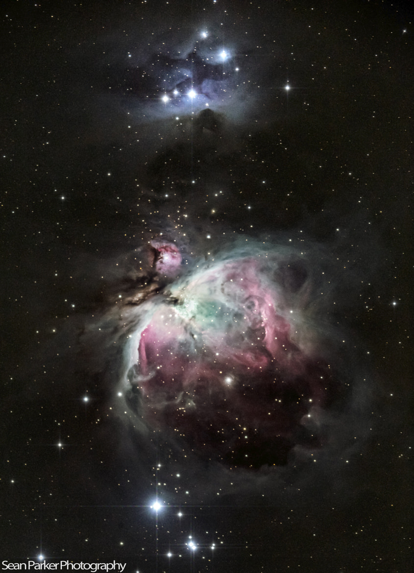 Photograph The Great Orion and Running Man Nebula by Sean Parker on 500px