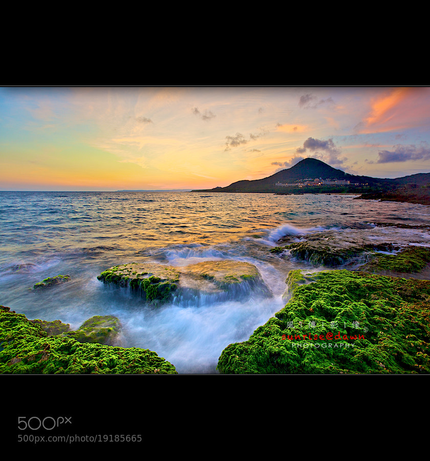 Photograph Mossy Coral 青苔の礁 by SUNRISE@DAWN photography 風傳影像 on 500px