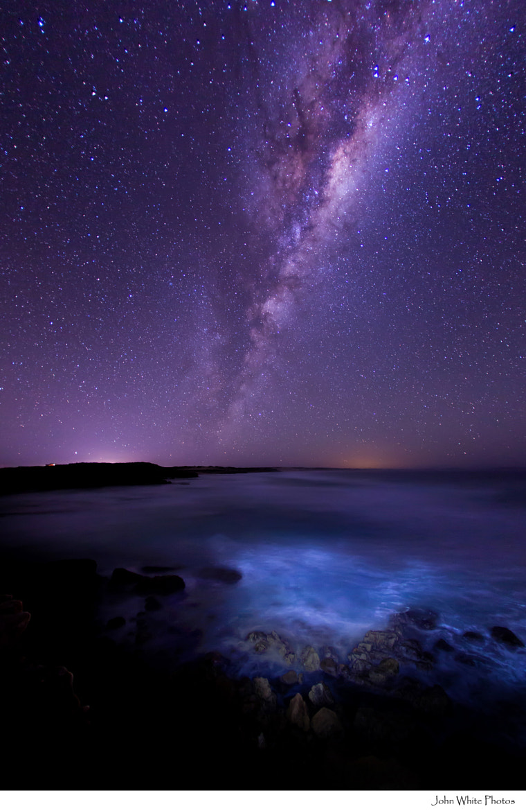 Photograph Milky Way over the Southern Ocean by John White on 500px
