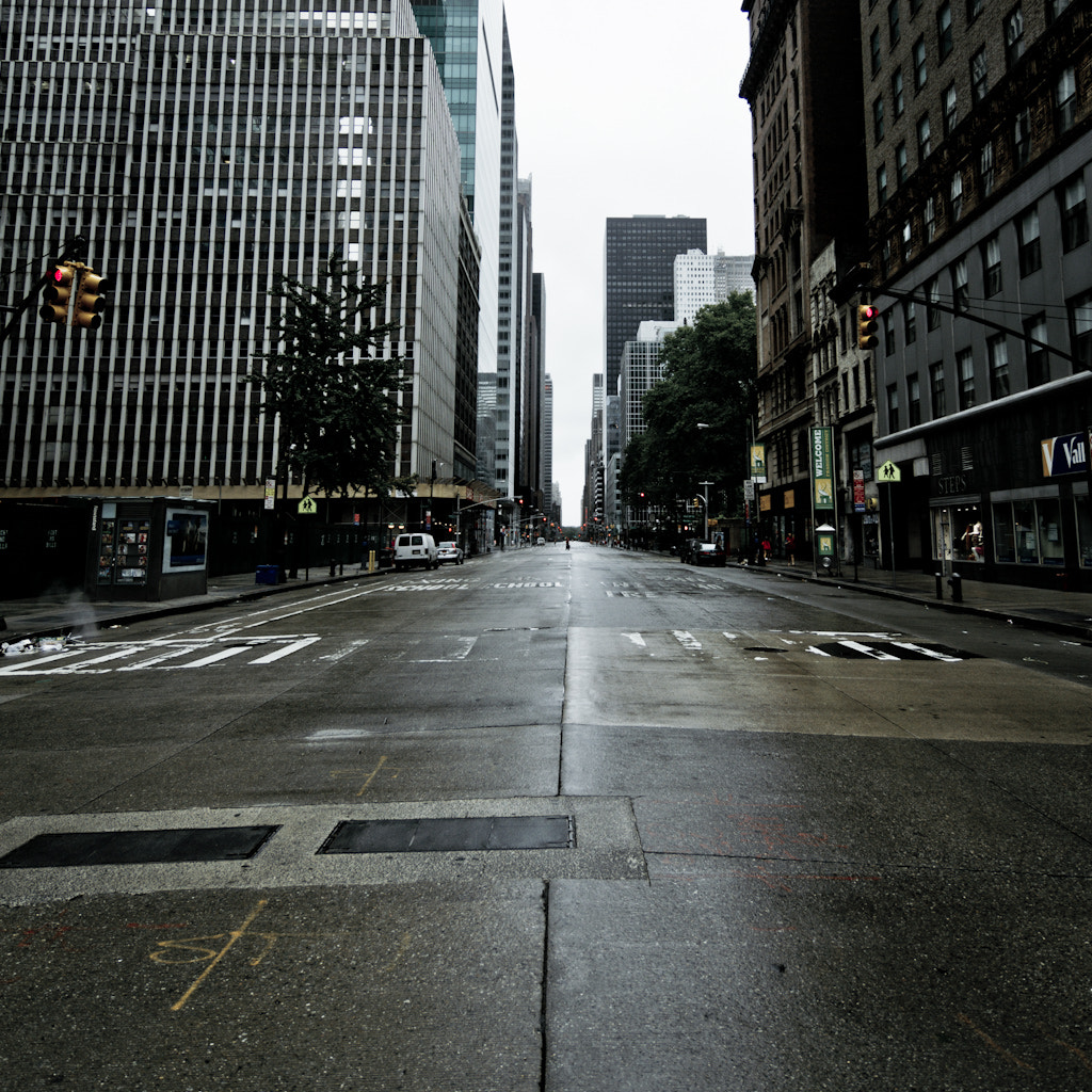 Photograph empty streets in New York City by Thomas Richter on 500px